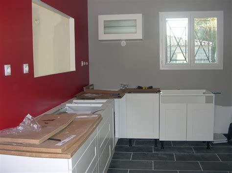 meubles de cuisine blanc cuisine mur meuble blanc kirafes