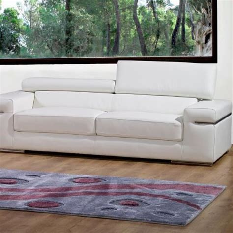 achat tetiere pour canape canapé 3 places en cuir blanc achat vente