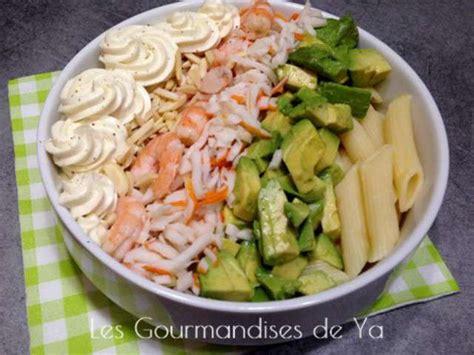 recettes de salade de p 226 tes et crevettes