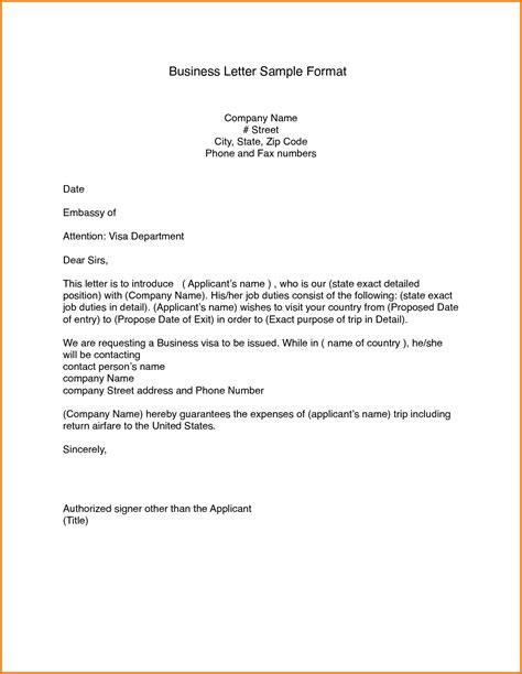 standard letter format 7 format of a standard business letter expense report 27745