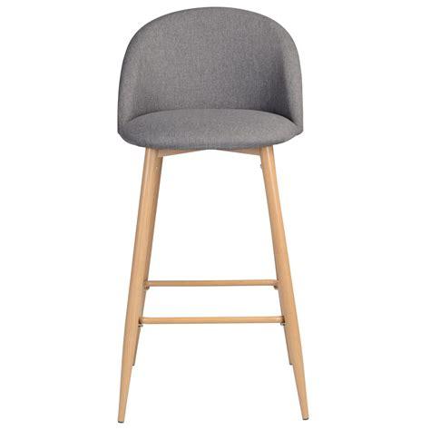 Chaise De Bar Cozy Grise (lot De 2)  Achetez Nos Chaises