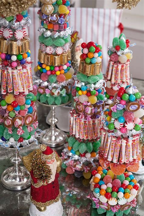 how to do a christmas candy sunday centerpiece diy centerpieces make amazing and easy decor from the babs horner