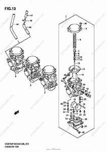 Suzuki Motorcycle 2005 Oem Parts Diagram For Carburetor
