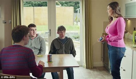 Irn Bru Advert That Shows Mother Trying To Seduce Her