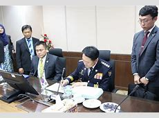 Courtesy Call to The Director for Crime Investigation