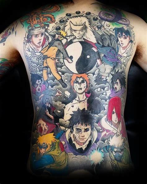 naruto tattoo designs  men manga ink ideas