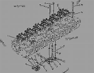 4p4372 Valve Mechanism Group - Engine