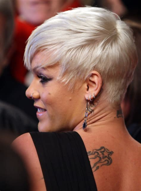 Pink Short Side Part Pink Short Hairstyles Looks