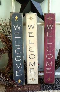 Primitive, Welcome, Signs