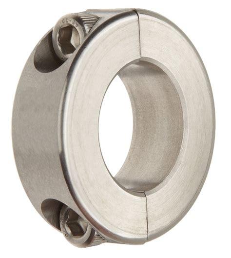 stainless steel double split shaft collar