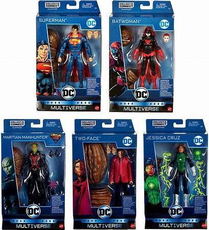 Multiverse Dc Figure Face Clay Figures Action