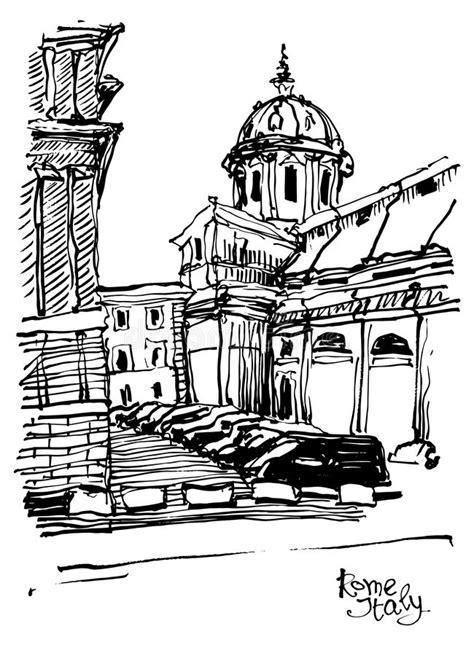 cubra   lapis desenho  esboco da arquitetura da cidade