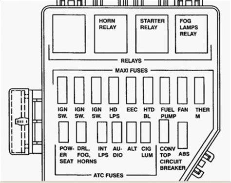 2004 Mustang Gt Radiator Fan Wiring Diagram by 1996 Mustang Fuse Box Repair Manual