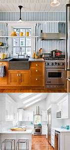 25 gorgeous paint colors for kitchen cabinets and beyond With kitchen colors with white cabinets with label maker stickers