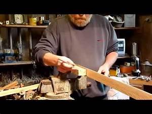 Fabriquer Un Arc : fabriquer un arc 6 la poign e de l 39 arc youtube ~ Nature-et-papiers.com Idées de Décoration