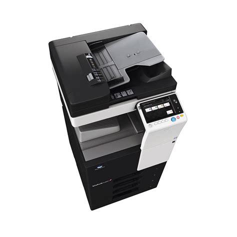 Impressão sem driver de pdf, xps, docx, xlsx, pptx, jpeg, tiff, ps e pcl. Konica Minolta bizhub C227 - 22ppm - StartOffice