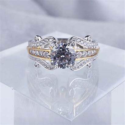 Jeulia Ring Solitaire Diamond Rings Engagement