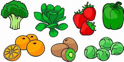Vitamin Vitamins Soluble Water Fat Clipart Foods