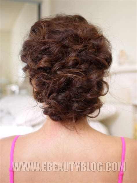 Easy Updo Hairstyle Tutorials by Ebeautyblog Easy Updo Hair Tutorial Hair