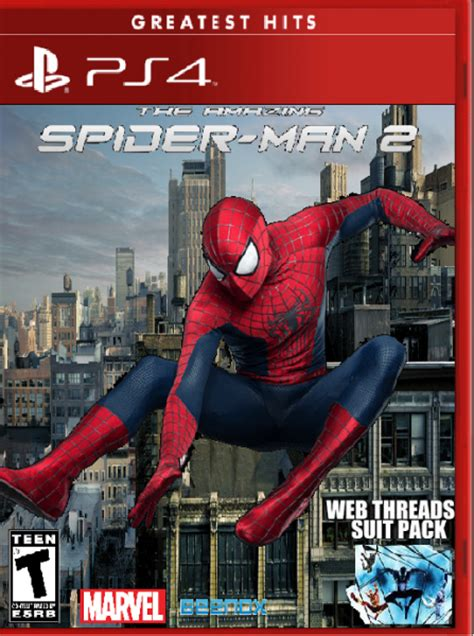 amazing spider man  playstation  box art cover