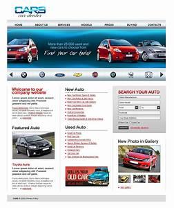 Auto Web : car dealer website template 20157 ~ Gottalentnigeria.com Avis de Voitures