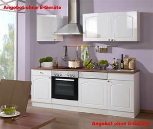 Küche 220 Cm : k chenzeile boston k chen leerblock breite 220 cm hochglanz wei k che k chenzeilen ~ Eleganceandgraceweddings.com Haus und Dekorationen