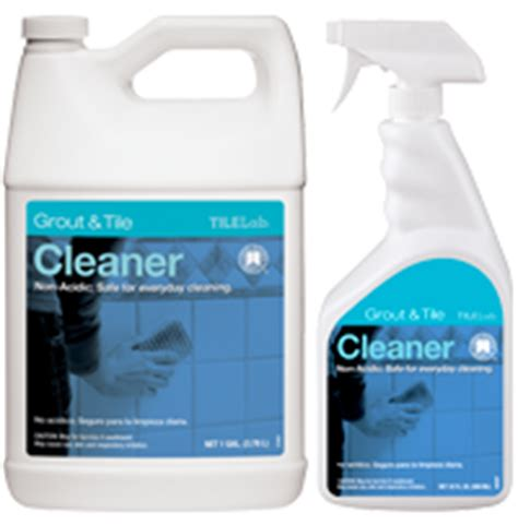 tilelab grout and tile cleaner and resealer care maintenance products custom building products