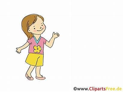 Clipart Kindergarten Bild Maedchen Zwei Comic Cartoon