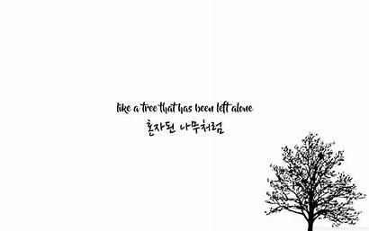 Desktop Kpop Lyric Bts Wallpapers Lyrics Aesthetic