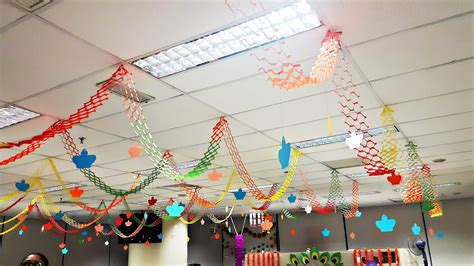 diy recycled decoration idea for hang on ceiling diy simple and easy hanging paper decorations for any events