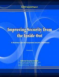 Improving Security from the Inside Out - BankInfoSecurity