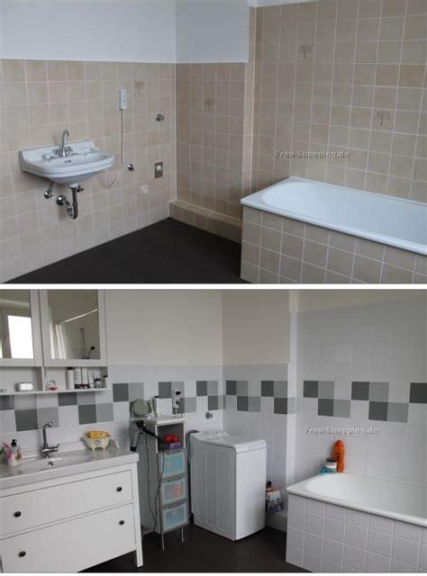 badezimmer fliesen streichen mein badezimmer vorher nachher mit fliessenaufkleber wohnen einrichten ideen deko in 2019