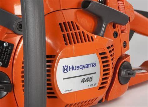 Husqvarna 445 Chain Saw   Consumer Reports