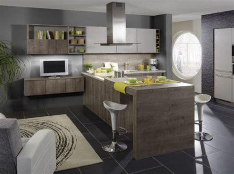 cuisine et vie ilots central idées pour la maison cuisine