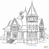 Coloring Pages Victorian Printable Drawing Paper Crafts sketch template