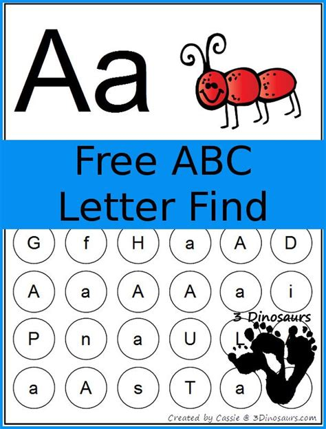 free abc letter find printable ultimate homeschool board