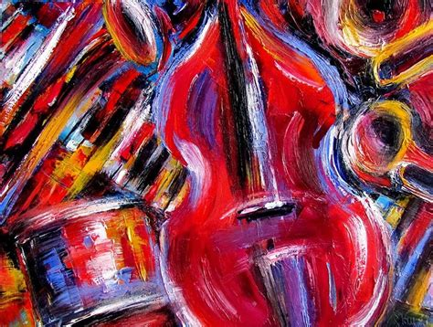 modern jazz piano artists artists of contemporary paintings and abstract jazz painting bass piano drums