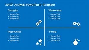 Entity Chart Shapes Flat Swot Analysis Powerpoint Template Slidemodel