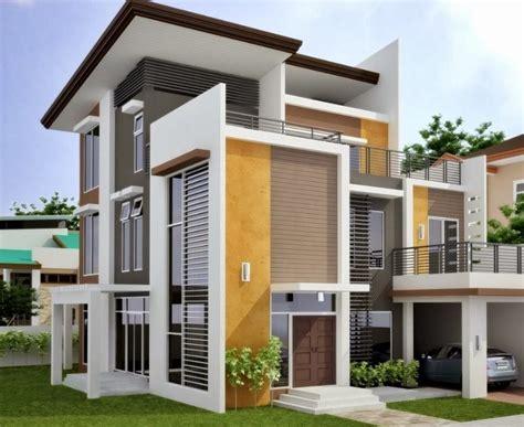 desain rumah minimalis atap miring foto desain rumah