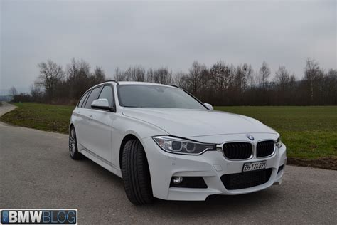 Bmw 330d Touring With Msport Package  Test Drive