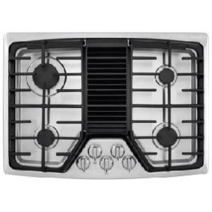 rcdgps frigidaire  gas downdraft cooktop stainless steel airport home appliance mattress