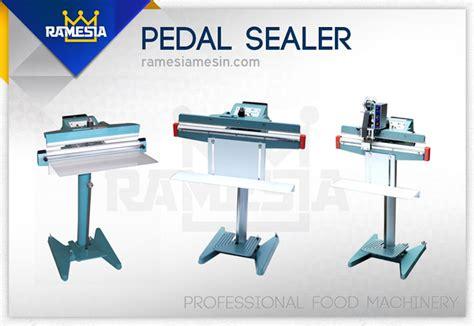 pedal sealer mesin sealer kaki ramesia mesin