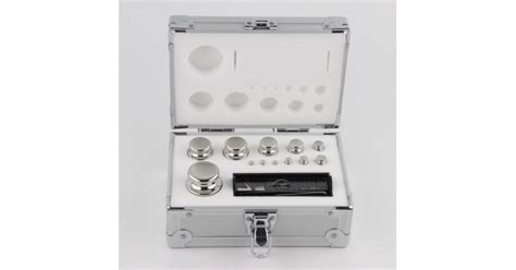 mg   calibration weight set oiml class  stainless steel