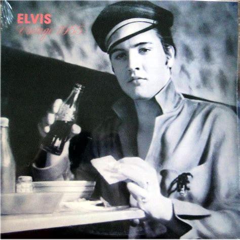 elvis presley vinyl album elvis vintage   oak