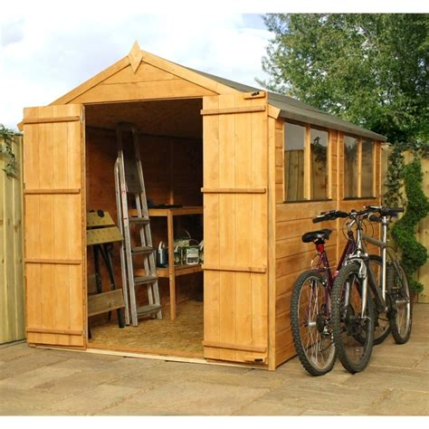 10 x 6 shed tongue and groove 10 x 6 tongue and groove apex shed with doors 4