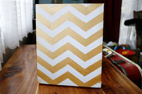 Chevron Template For Painting by Talia Christine Diy Chevron Wall Painting