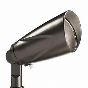 shop kichler 3 watt 25 w equivalent olde bronze low With led outdoor lighting screwfix
