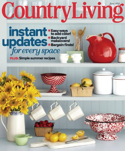 country living magazine recipes country living magazine subscription deal recipes diy decorating 2014