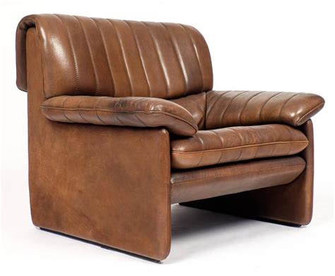 Vintage De Sede Ds-85 Soft Leather Armchair And Ottoman At