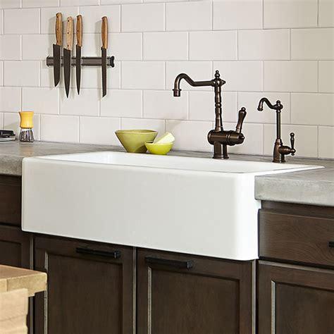kitchen farm sink hillside   kitchen sink  dxv